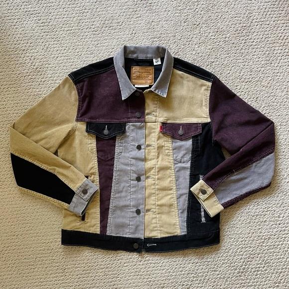 Levi's Colorblock Corduroy Trucker Jacket